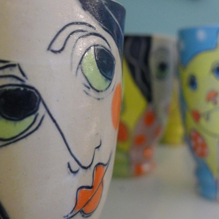 Keramikwerkstatt Grit Uhlemann - Porzellanlampen - Keramik - Töpferrei - Porzellan - Keramik - handmade - Westerwald - Höhr-Grenzhausen - natur kultur keramik Rheinland-Pfalz