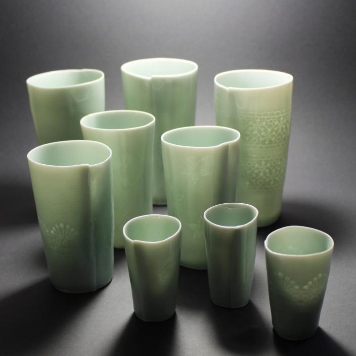 Claudia Henkel - Gebaute Porzellangefäße