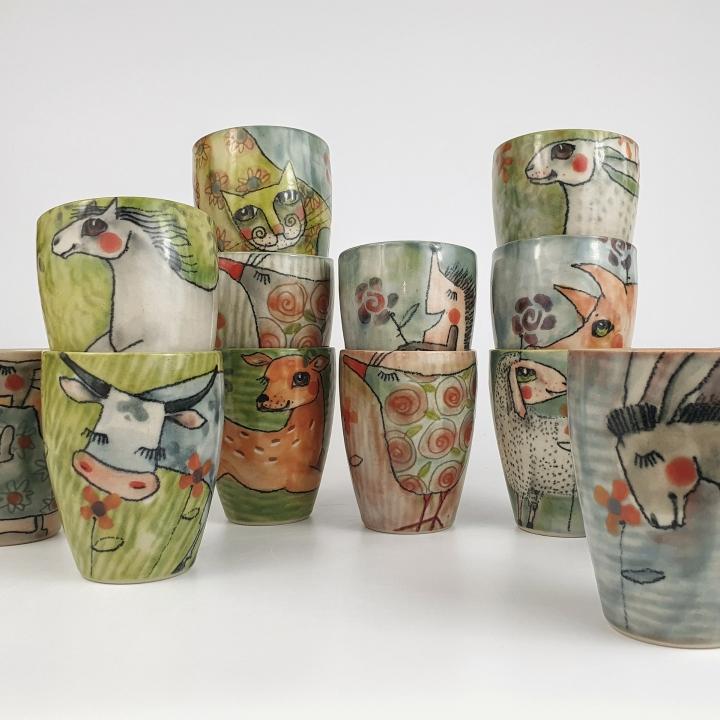 Keramikwerkstatt Meyer Matschke - Keramik - Geschirr - Illustration