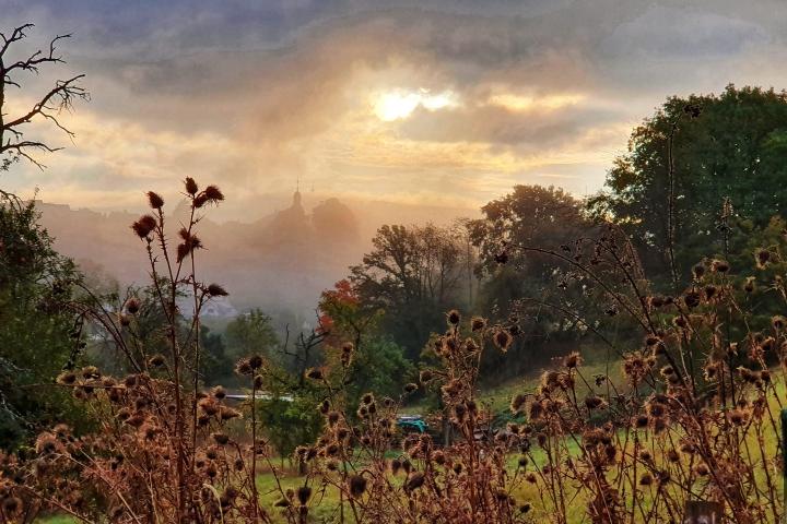 Herbststimmung - Höhr-Grenzhausen, Aufnahme von Ute Matschke