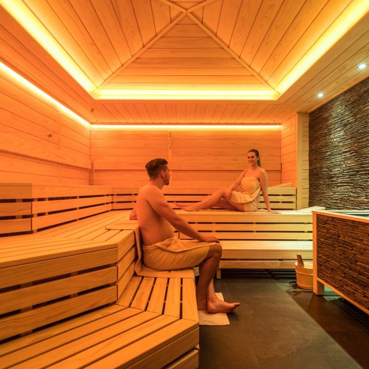 Sauna im Hotel Heinz