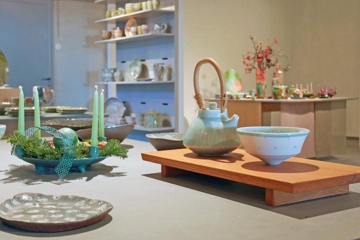 Keramikgruppe - Verkaufsraum