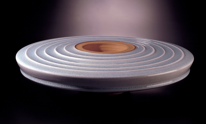 Steinzeuggefäß des Keramikers Fritz Rossmann