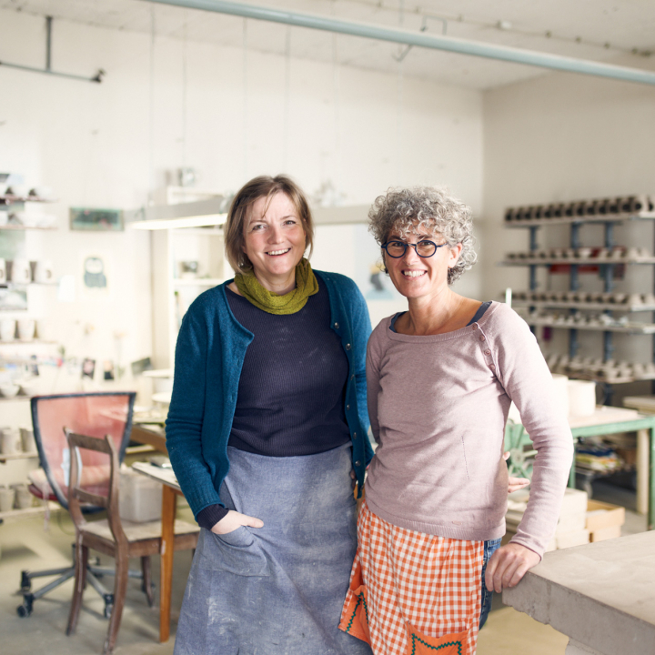 Portät von Maria Meyer und Ute Matschke
