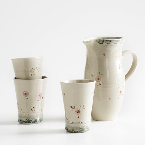 Geschirrserie der Keramikerin Alina Penninger