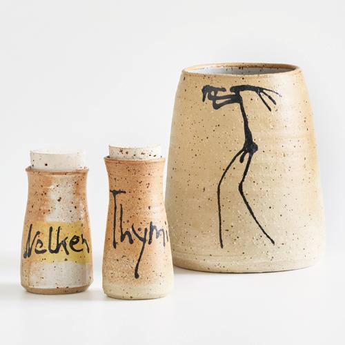 Steinzeuggeschirr des Keramikers Armin Skirde
