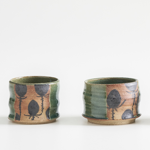 Holzbrandschalen der Keramikerin Grit Uhlemann