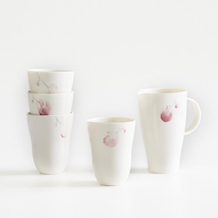 Porzellanserie von Kathrin Bachmann
