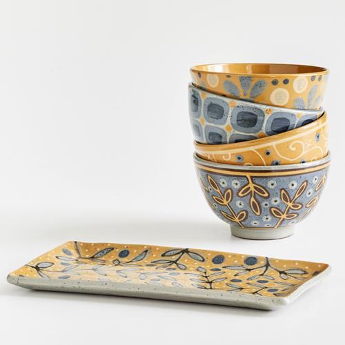 Steinzeuggeschirr der Keramikwerkstatt Böhmer