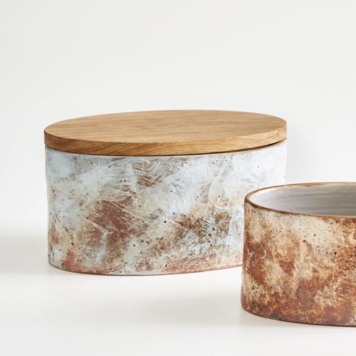 Brottöpfe des Keramikers Martin Goerg