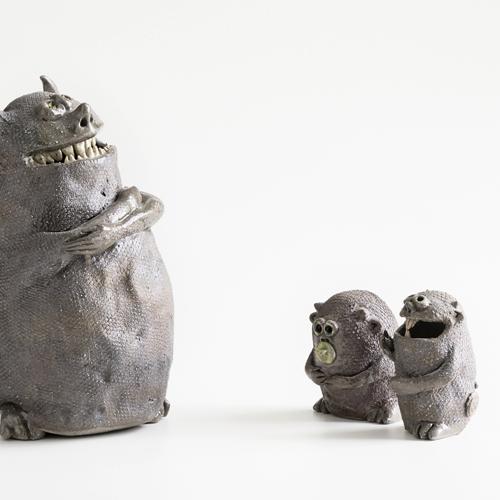 Keramikmonster Stefanie Schmoltzi